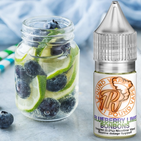 Blueberry & Lime Bonbons - 10ml