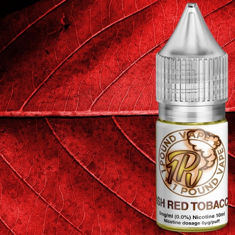 Ash Red Tobacco - 10ml